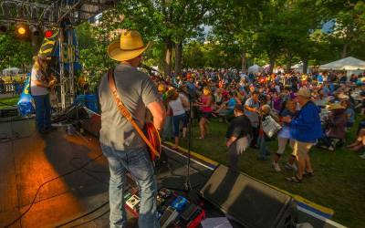 Denver Band Narrow Gauge entertains corporate fans